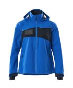 18011-249-91010 Hard Shell Jacke - Azurblau/Schwarzblau