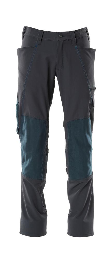 18079-511-010 Hose mit Knietaschen - Schwarzblau