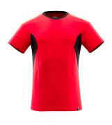 18082-250-20209 T-Shirt - Verkehrsrot/Schwarz