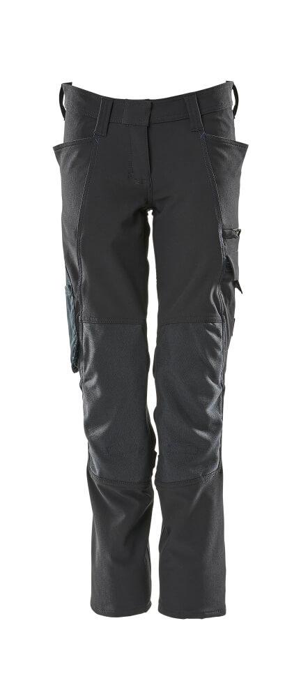 18088-511-010 Hose mit Knietaschen - Schwarzblau