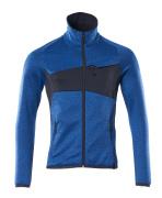 18103-316-010 Fleecepullover mit Reißverschluss - Schwarzblau