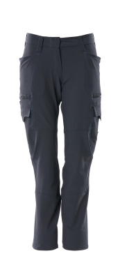 18178-511-010 Hose mit Schenkeltaschen - Schwarzblau