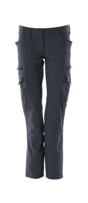 18188-511-010 Hose mit Schenkeltaschen - Schwarzblau
