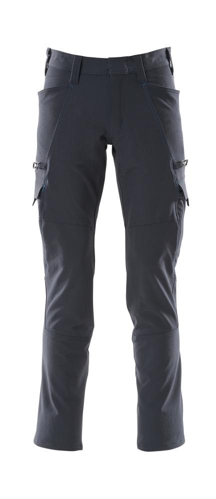 18279-511-010 Hose mit Schenkeltaschen - Schwarzblau