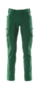 18279-511-03 Hose mit Schenkeltaschen - Grün