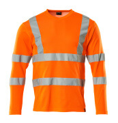 18281-995-14 T-Shirt, Langarm - hi-vis Orange