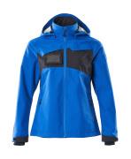 18311-231-91010 Hard Shell Jacke - Azurblau/Schwarzblau