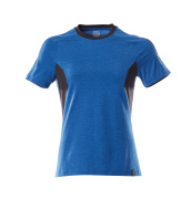 18392-959-01091 T-Shirt - Schwarzblau/Azurblau