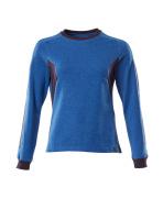 18394-962-91010 Sweatshirt - Azurblau/Schwarzblau