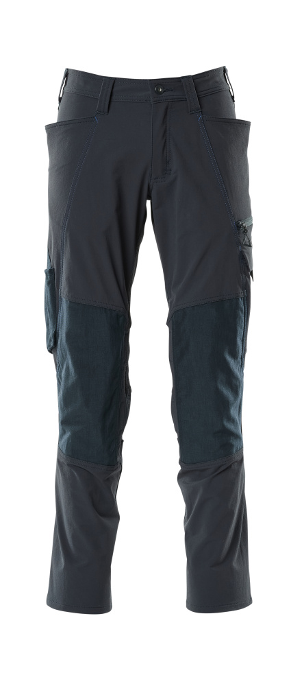 18479-311-010 Hose mit Knietaschen - Schwarzblau