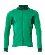 18484-962-33303 Sweatshirt mit Reißverschluss - Grasgrün/Grün