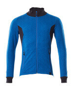 18484-962-91010 Sweatshirt mit Reißverschluss - Azurblau/Schwarzblau