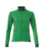 18494-962-33303 Sweatshirt mit Reißverschluss - Grasgrün/Grün