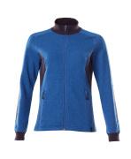 18494-962-91010 Sweatshirt mit Reißverschluss - Azurblau/Schwarzblau