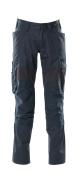 18579-442-010 Hose mit Knietaschen - Schwarzblau
