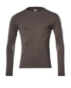 18581-965-18 T-Shirt, Langarm - Dunkelanthrazit