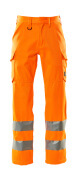 18879-860-14 Hose mit Schenkeltaschen - hi-vis Orange