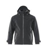 18901-249-09 Soft Shell Jacke für Kinder - Schwarz