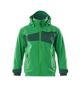 18901-249-33303 Hard Shell Jacke für Kinder - Grasgrün/Grün