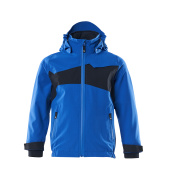 18901-249-91010 Hard Shell Jacke für Kinder - Azurblau/Schwarzblau