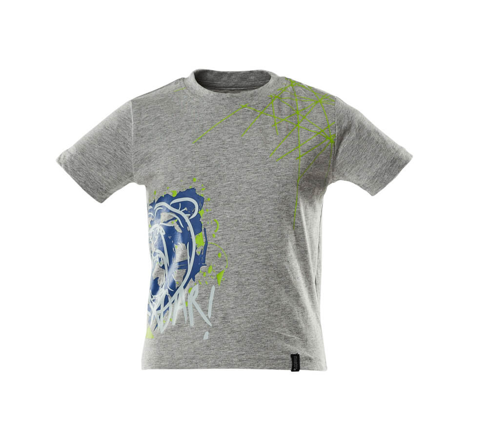 18982-965-08 T-Shirts für Kinder - Grau-meliert
