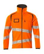 19002-143-1418 Soft Shell Jacke - hi-vis Orange/Dunkelanthrazit