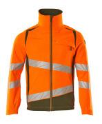 19009-511-1433 Jacke - hi-vis Orange/Moosgrün