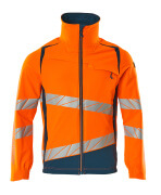 19009-511-1444 Jacke - hi-vis Orange/Dunkelpetroleum