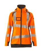 19011-449-1418 Hard Shell Jacke - hi-vis Orange/Dunkelanthrazit