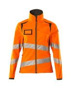 19012-143-1418 Soft Shell Jacke - hi-vis Orange/Dunkelanthrazit