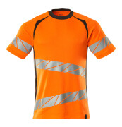 19082-771-1418 T-Shirt - hi-vis Orange/Dunkelanthrazit