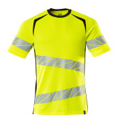 19082-771-1709 T-Shirt - hi-vis Gelb/Schwarz