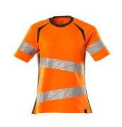 19092-771-1418 T-Shirt - hi-vis Orange/Dunkelanthrazit
