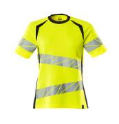 19092-771-17010 T-Shirt - hi-vis Gelb/Schwarzblau