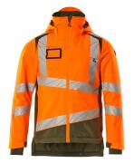 19335-231-1433 Winterjacke - hi-vis Orange/Moosgrün