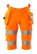 19349-711-14 Shorts, lang mit Hängetaschen - hi-vis Orange