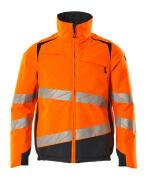 19435-231-14010 Winterjacke - hi-vis Orange/Schwarzblau