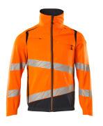 19509-236-14010 Jacke - hi-vis Orange/Schwarzblau