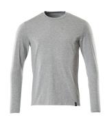 20181-959-08 T-Shirt, Langarm - Grau-meliert