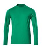 20181-959-333 T-Shirt, Langarm - Grasgrün
