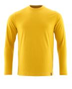 20181-959-70 T-Shirt, Langarm - Currygelb