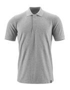 20183-961-08 Polo-Shirt - Grau-meliert