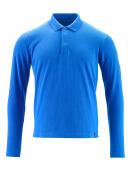 20483-961-91 Polo-Shirt, Langarm - Azurblau