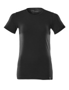 20492-786-90 T-Shirt - Vollschwarz
