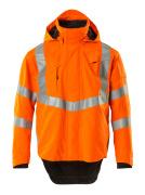 20501-231-14 Hard Shell Jacke - hi-vis Orange