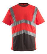 50118-949-A49 T-Shirt - hi-vis Rot/Dunkelanthrazit