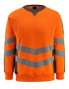 50126-932-1418 Sweatshirt - hi-vis Orange/Dunkelanthrazit
