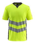 50127-933-1709 T-Shirt - hi-vis Gelb/Schwarz