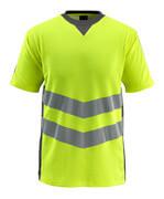 50127-933-1718 T-Shirt - hi-vis Gelb/Dunkelanthrazit