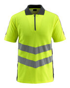 50130-933-1709 Polo-Shirt - hi-vis Gelb/Schwarz